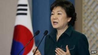 South Korean President Park Geun-hye (4 March 2013)