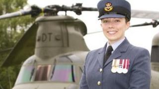 Flight Lieutenant Fran Capps