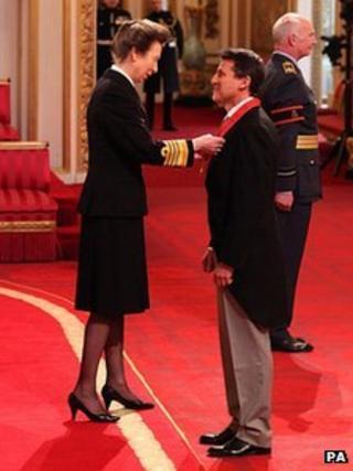 Princess Royal, Lord Coe