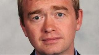 Lib Dem MP Tim Farron
