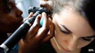 Ear examination