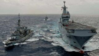 French navy ships