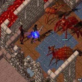 Screengrab from Ultima Online
