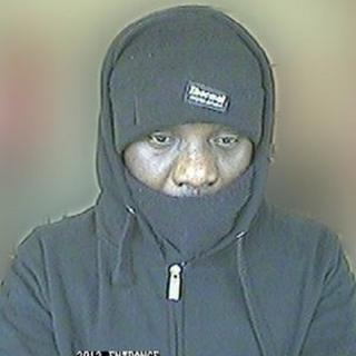Man police want to trace in connection with armed robberies on bookmakers