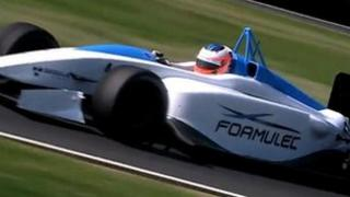 Formula E trailer