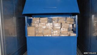 Drugs in lorry