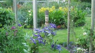 The garden at Ochran Mill