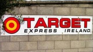 Target Express logo