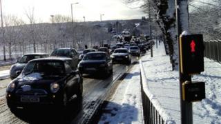 Traffic in Aberdeen