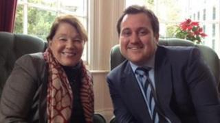 Sue Rescorla and Dave Egford