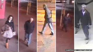 CCTV images of possible witness