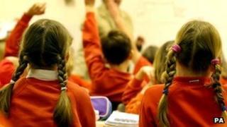 Primary classroom generic image