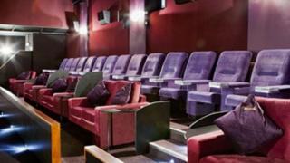 Seating at the Regal Cinema