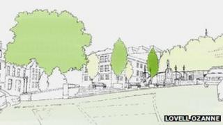 Plans for a development in Guernsey