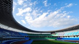 Stadium for The World Games 2009 in Kaohsiung