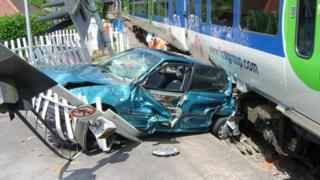 Shiplake collision in July 2006