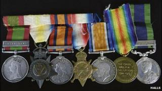 Robert Walmsley's medals