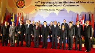 Southeast Asian Education Association photo call