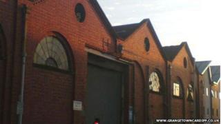 Former tram sheds in Grangetown