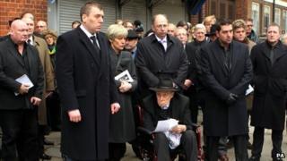 Funeral of Bruce Reynolds