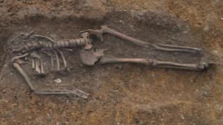 Skeleton discovered in Cambridge