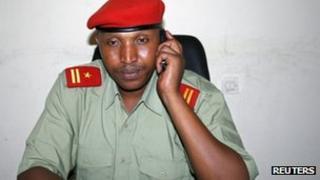 File photo of Bosco Ntaganda in eastern DR Congo, 2009