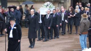 Christina Edkins funeral at Birmingham Cathedral