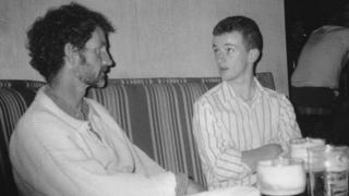 Robert Walton and his son Garry Walton