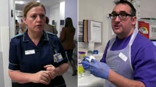 view download images  Images Stress, emotion and drama: Behind the scenes at the NHS - BBC News