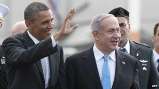 President Barack Obama and Benjamin Netanyahu
