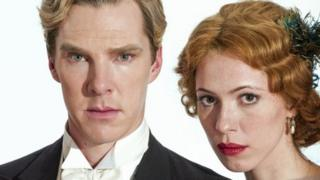 Benedict Cumberbatch and Rebecca Hall in Parade's End