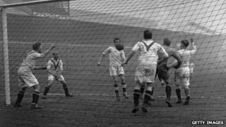Manchester United v Manchester City in 1926
