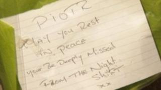 A note left in memory of Piotr Mikiewicz