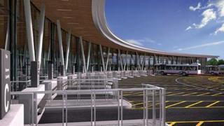 Stoke-on-Trent new bus station