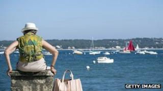 pensioner by harbour