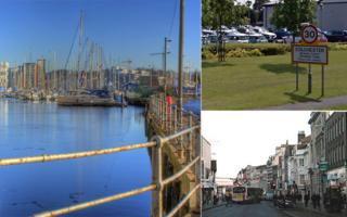 Ipswich docks and Colchester