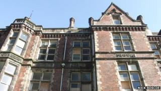 Part of the Edwardian wing of the former Jessop Hospital