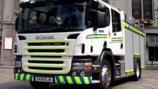 Grampian fire engine