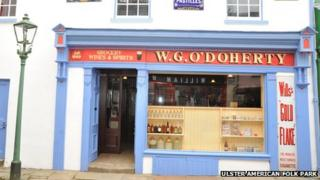 WG O'Doherty's grocery