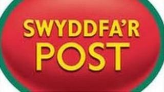 Arwydd Swyddfa'r Post