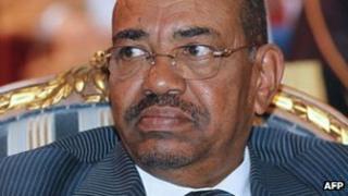 Sudan's President Omar al-Bashir (file image)