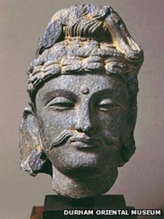 Sculpture of Buddhist Bodhisattva