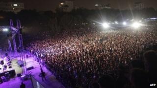 Cyprus Aid concert in Nicosia
