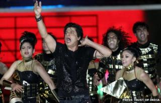Shah Rukh Khan at IPL opening ceremony