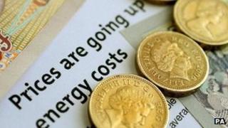 Money and energy bill