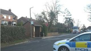 Thorpe Road fire
