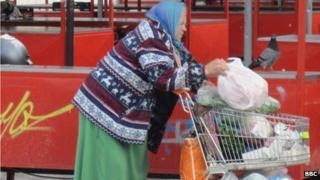 Lady in Ljubljana market