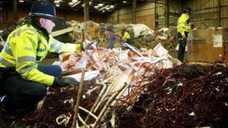 A previous West Midlands metal theft operation