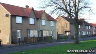 Council houses in Stirling