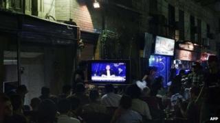 Bassem Youssef's show on CBC, 5 April